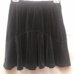 Hanna Anderssen Black Velour Skirt Holiday 140/ 10
